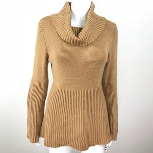 Style & Co Cowl Neck Trumpet Sleeve Sweater